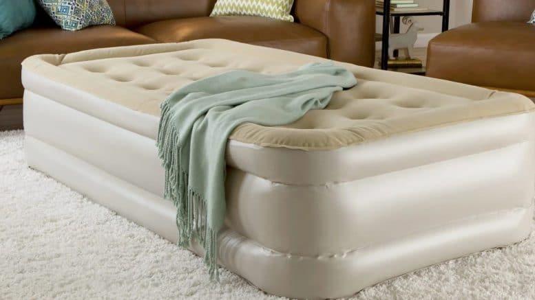 An air mattress